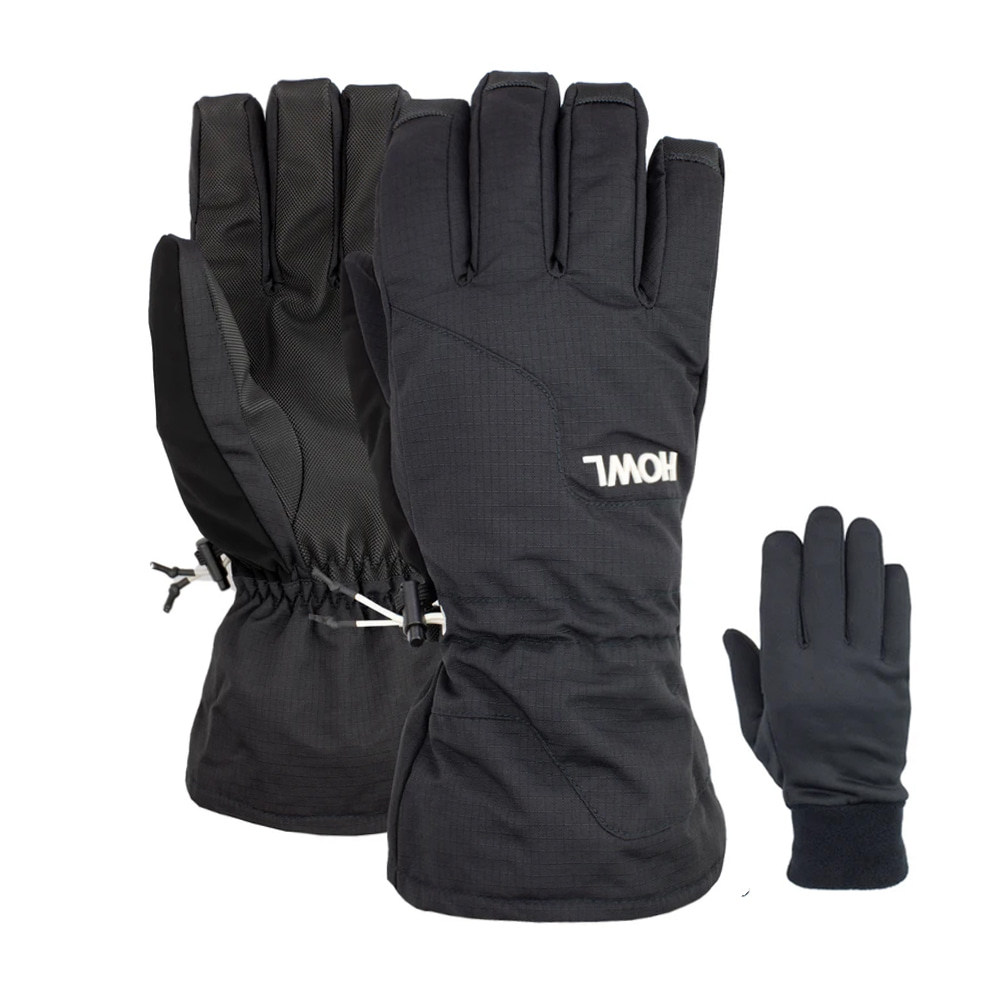 HOWL SUPPLY  BELMONT GLOVE BLACK