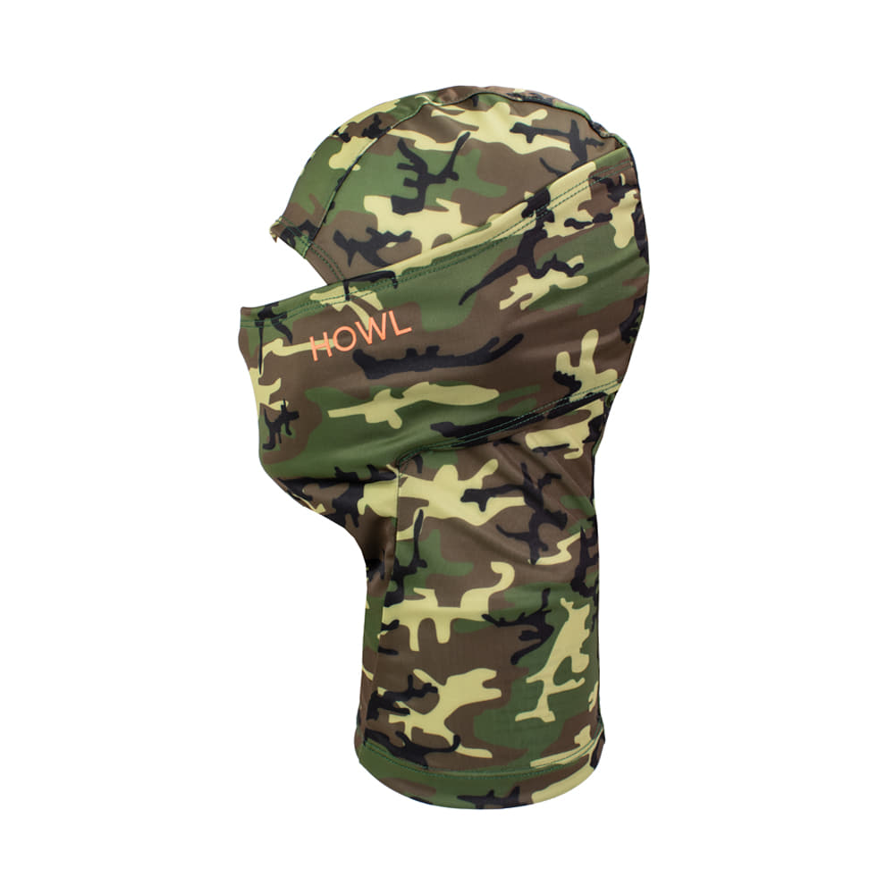 HOWL SUPPLY  LEGACY FACEMASK CAMO