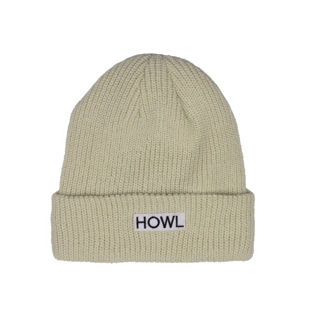 HOWL SUPPLY  GASOLINE BEANIE KHAKI