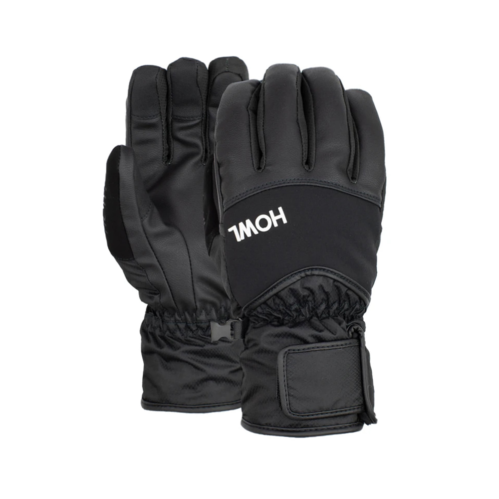 HOWL SUPPLY  UNION GLOVE BLACK