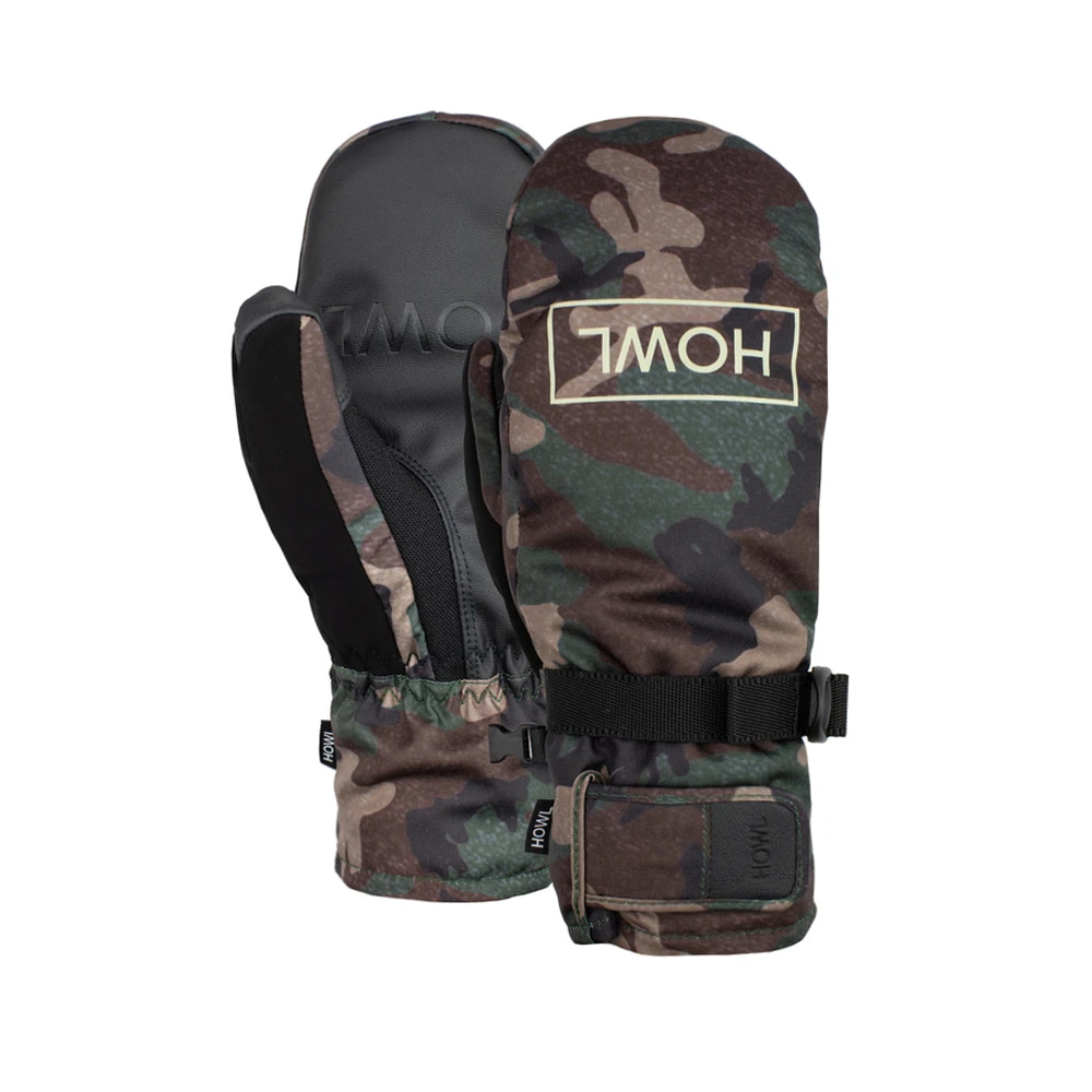HOWL SUPPLY  FAIRBANKS MITT CAMO