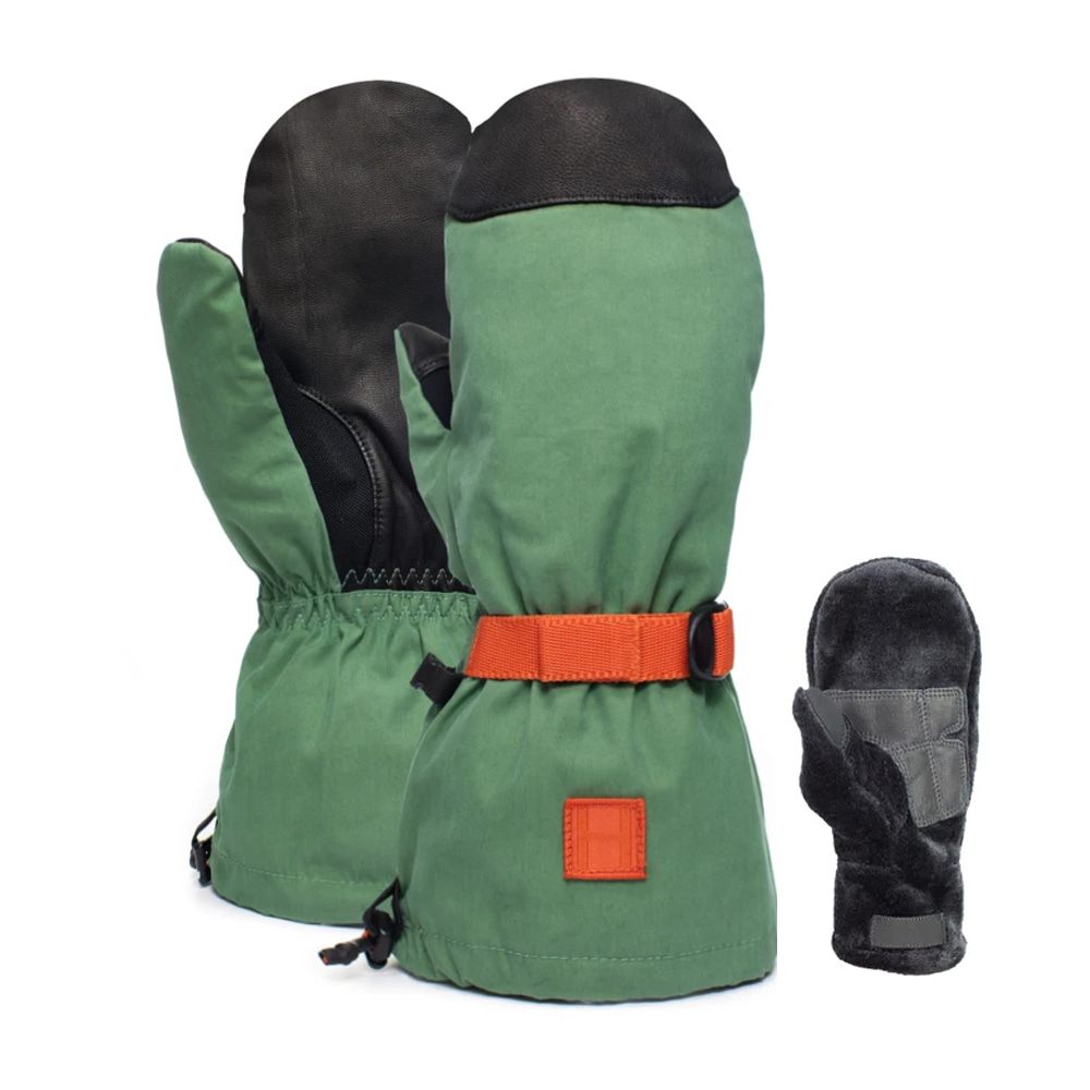 HOWL SUPPLY  NETWORK MITT GREEN