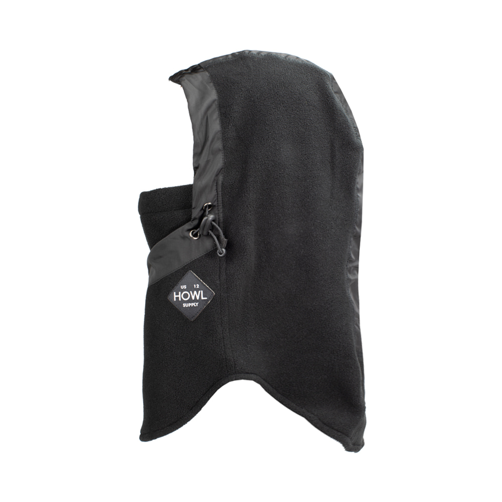 HOWL SUPPLY  STORMY FACEMASK BLACK