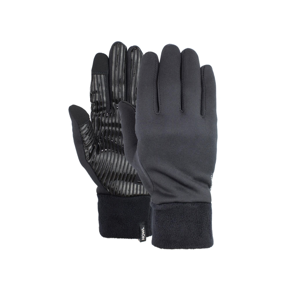 HOWL SUPPLY  LINER GLOVE BLACK