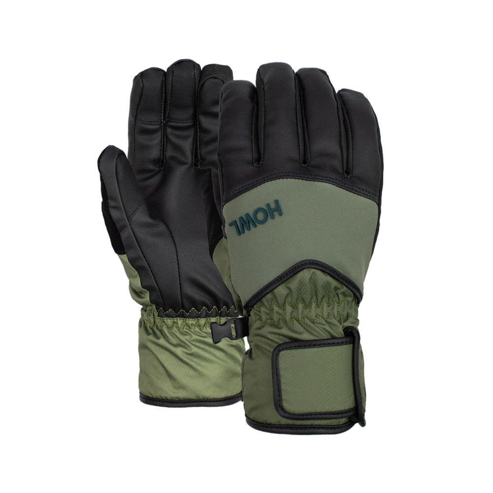 HOWL SUPPLY  UNION GLOVE GREEN