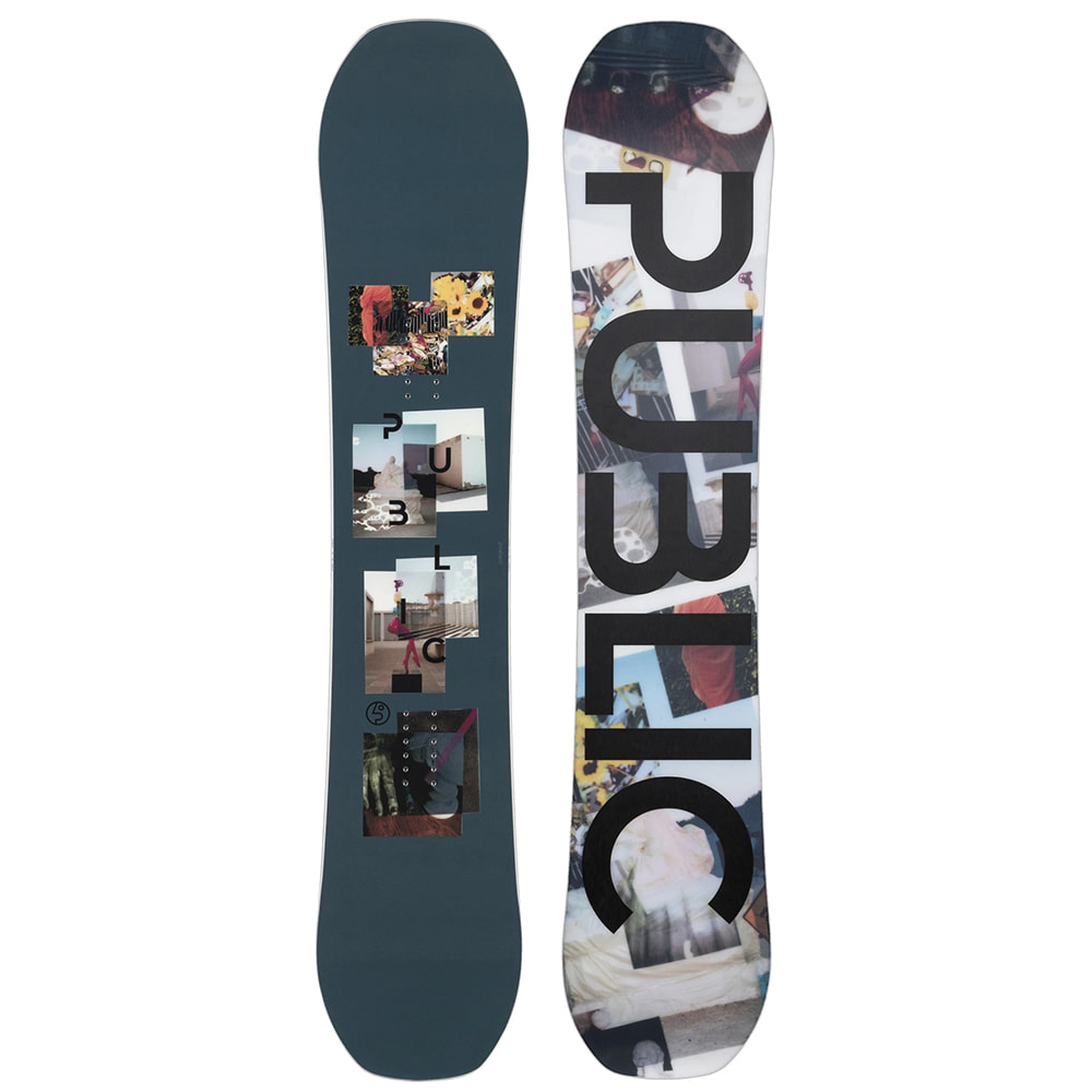 "PUBLIC SNOWBOARDS DISPLAY 150 - ""MATHES"" PRO"