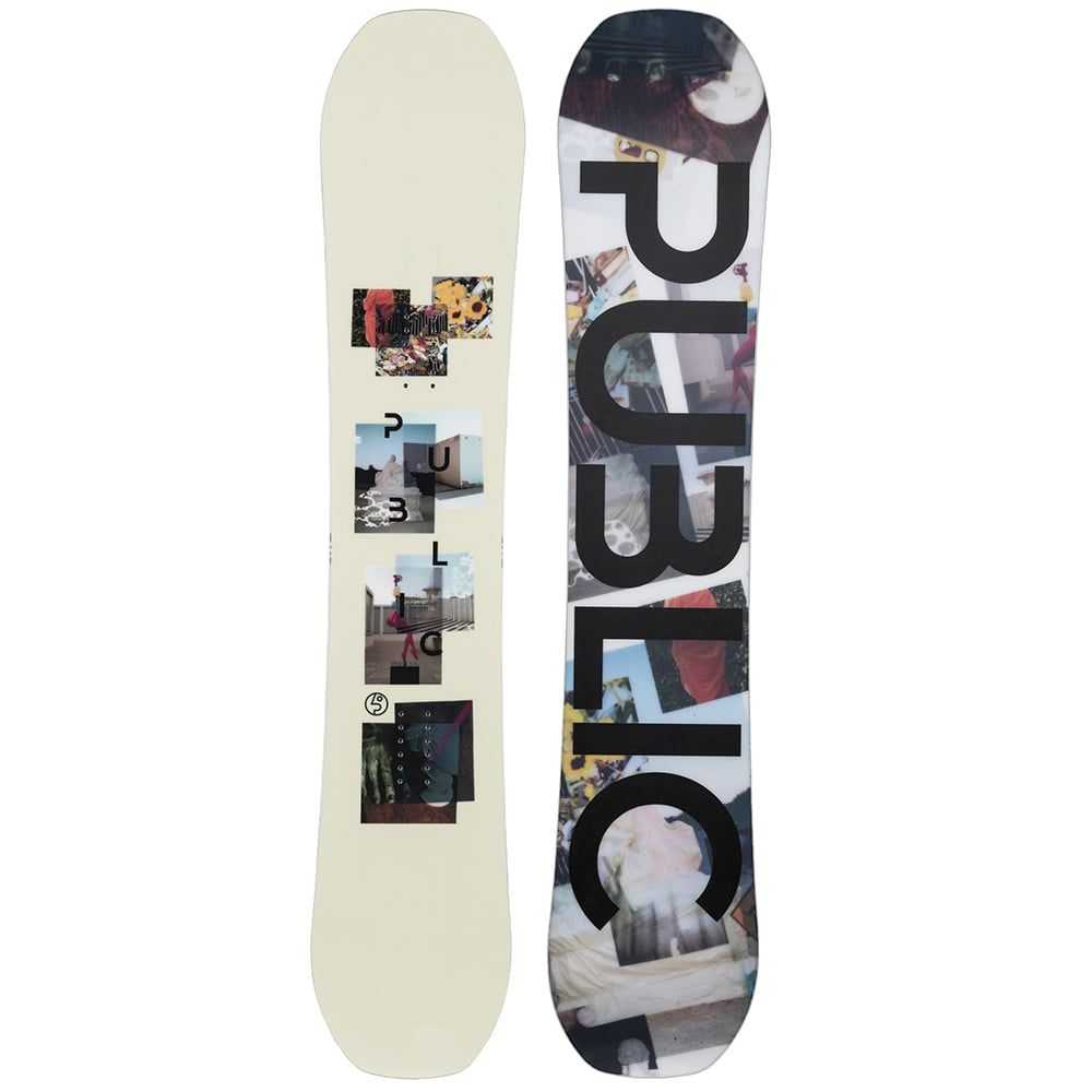 "PUBLIC SNOWBOARDS DISPLAY 156 - ""MATHES"" PRO"