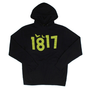 1817 CLASSIC PULLOVER HOOD BLACK