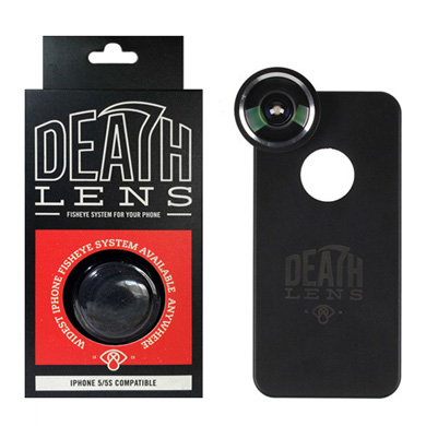 DEATH LENS FISHEYE (IPHONE SE / 5 / 5S COMPATIBLE)