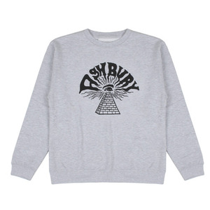 ASHBURY PYRAMID CREWNECK HEATHER GREY