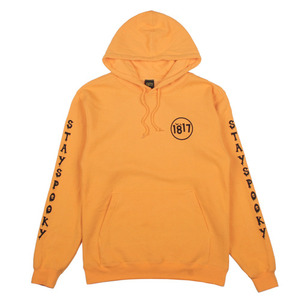 1817 STAY SPOOKY PULLOVER HOODIE GOLD