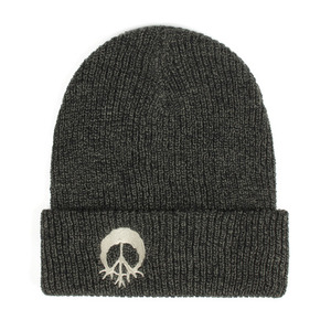 GNARLY BURNOUT BEANIE BLACK/OLIVE