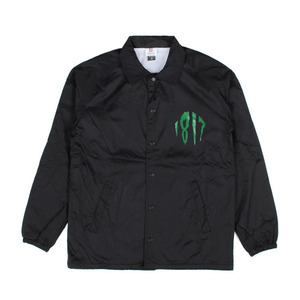 1817 GHOUL SQUAD COACHES JACKET BLACK