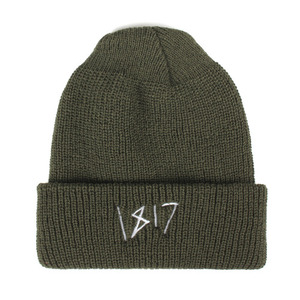 1817 CHICKEN SCRATCH BEANIE OLIVE