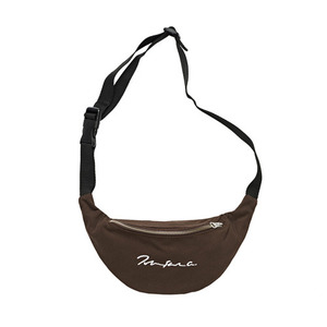 POLAR SIGNATURE HIP BAG -BROWN