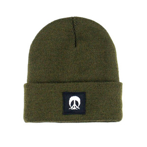 GNARLY JERSEY BEANIE OLIVE