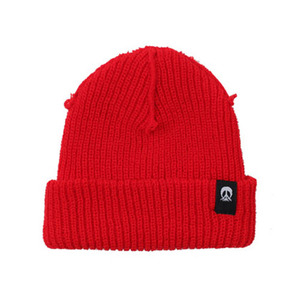 GNARLY INSIDE OUT BEANIE RED