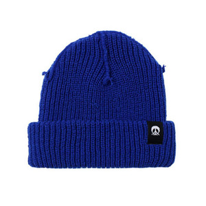 GNARLY INSIDE OUT BEANIE ROYAL BLUE