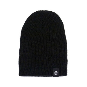 GNARLY SLOUCH BEANIE BLACK