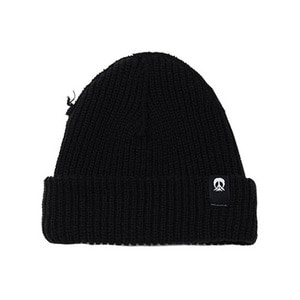 GNARLY INSIDE OUT BEANIE BLACK