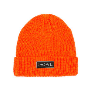 HOWL SUPPLY GASOLINE BEANIE ORANGE