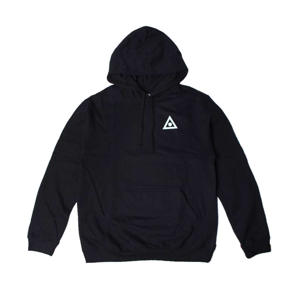 ASHBURY TRIANGLE HOOD BLACK