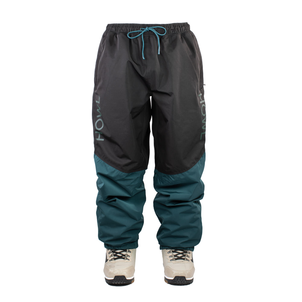 HOWL SUPPLY  SNOW PANT BLACK