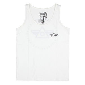 ASHBURY WINGS TANK TOP WHITE
